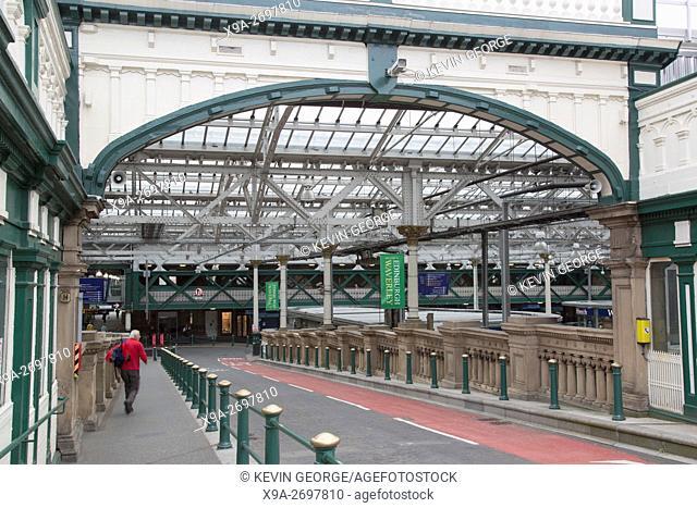 Waverley Railway Station; Edinburgh; Scotland, UK