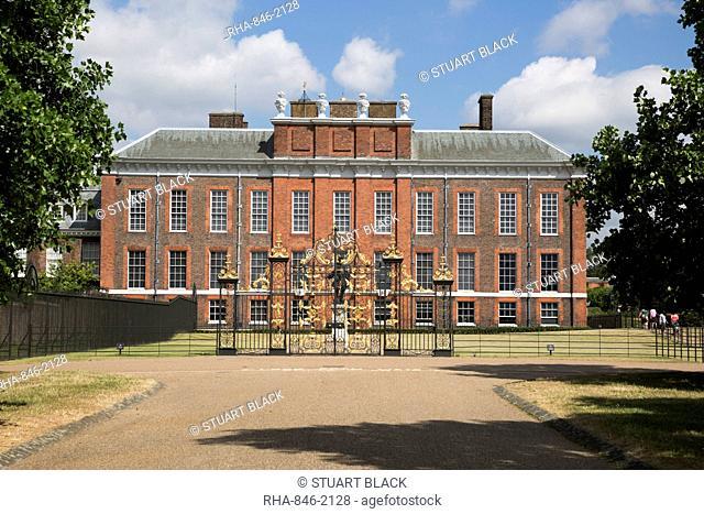 Kensington Palace, Kensington Gardens, London, England, United Kingdom, Europe