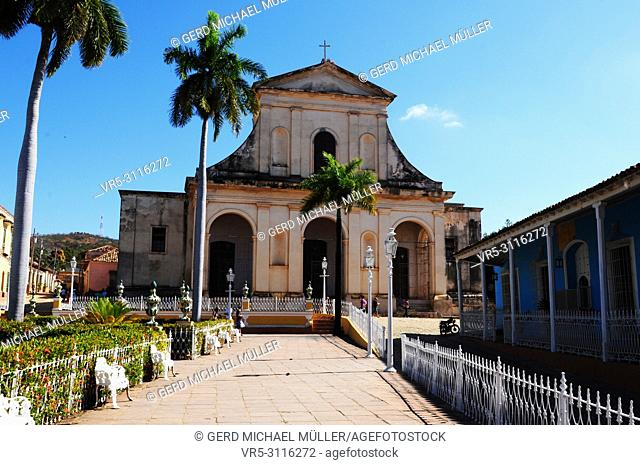 Cuba: Colonial style church in Trinidad
