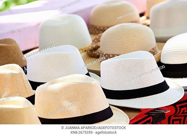 Panama hats, Panama City, Republic of Panama, Central America