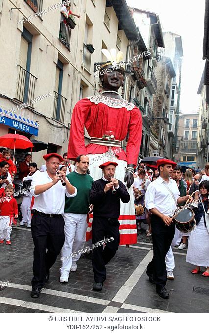 Celebrations of the Feria de San Fermin, Pamplona, Spain, Europe