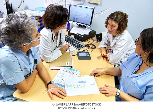 Genetic advice, Oncology, Hospital Donostia, San Sebastian, Gipuzkoa, Basque Country, Spain