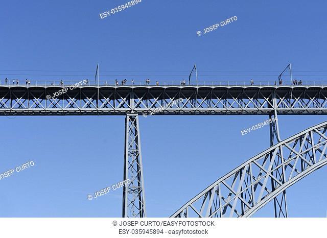 Don Luis Bridge of Porto, Portugal