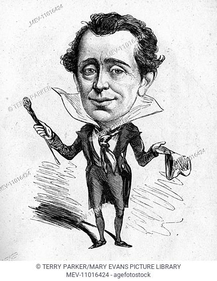 Caricature of Fred MacCabe, actor -- Multum in Parvo