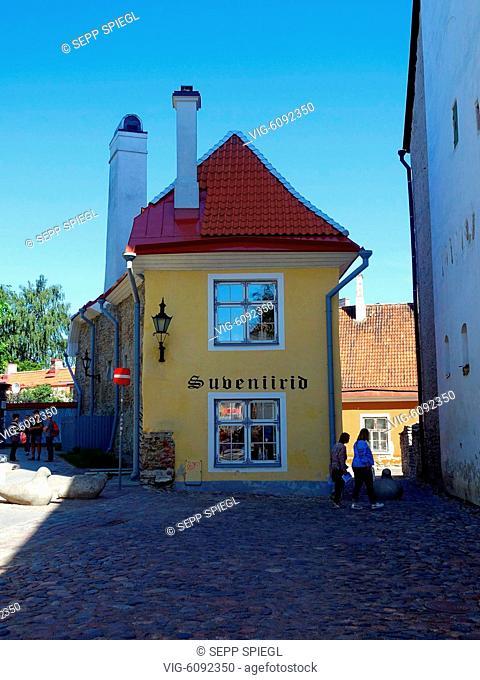 Estland, Tallinn, 10.06.2018 Tallinn, die Hauptstadt Estlands, liegt an der Ostsee und ist das kulturelle Zentrum des Landes