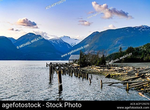 Howe Sound, Britannia Beach, British Columbia, Canada