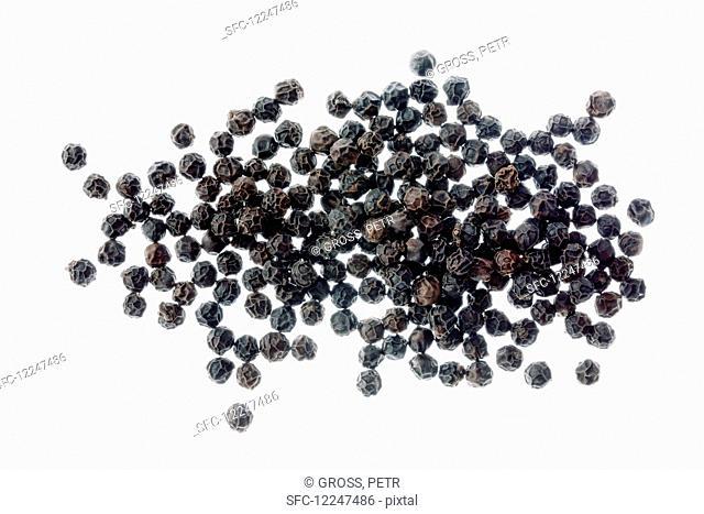 Black pepper (top view)