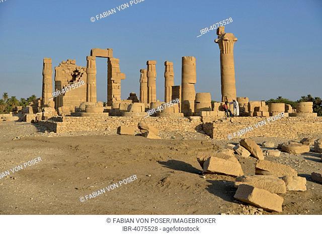 Temple of Amun, Soleb, Northern state, Nubia, Sudan