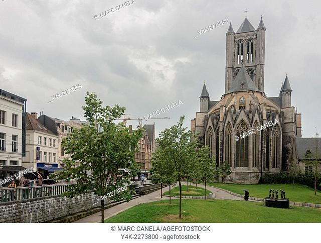 St. Nicholas' Church Sint-Niklaaskerk is one of the oldest and most prominent landmarks in Ghent, Belgium. Begun in the early 13th century as a replacement for...