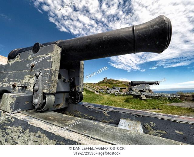 Signal Hill St Johns Newfoundland