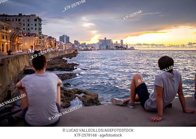 Malecón, La Habana, Cuba