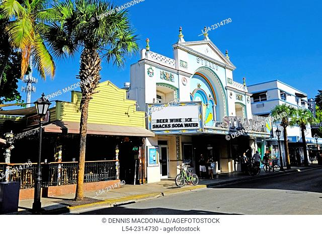 Downtown Key West Florida FL destination for Western Caribbean Cruise from Tampa