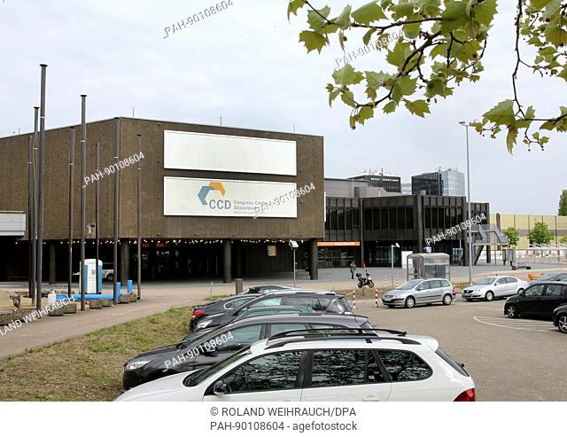 The Congress Center Duesseldorf (CCD), photographed in Duesseldorf, Germany, 24 April 2017. The Loveparade catastrophe in Duisburg will be revised in a criminal...
