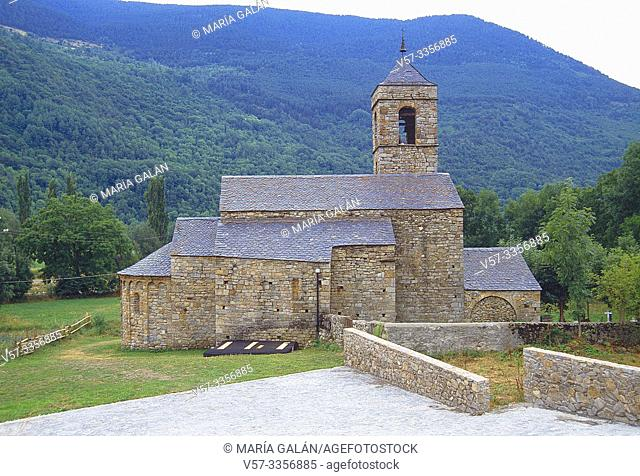 San Feliu church. Barruera, Lerida province, Catalonia, Spain