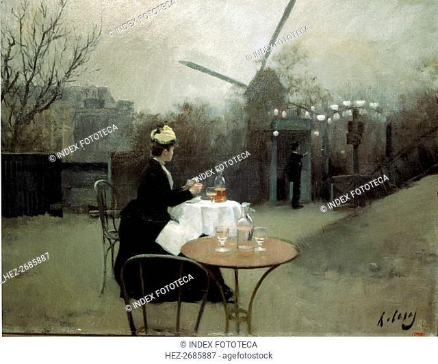 'Plein Air', 1890-91, oil on canvas by Ramon Casas