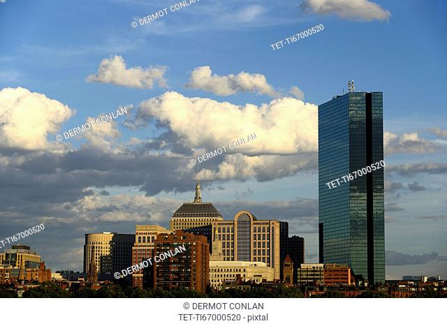 Massachusetts, Boston, Office buildings in Cosplay Square