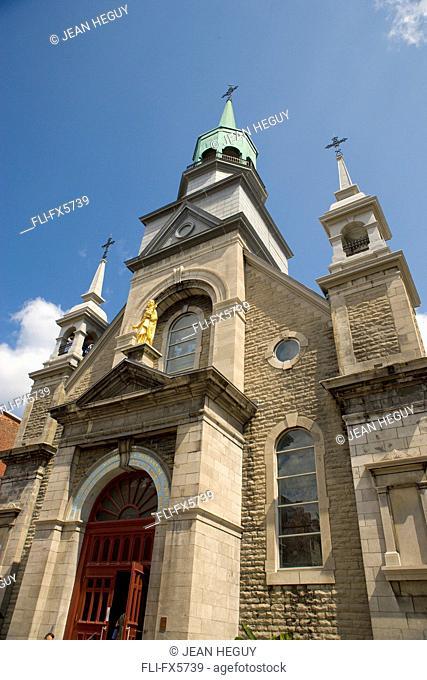 Notre Dame de Bon Secours Chapel, Old Montreal, Quebec