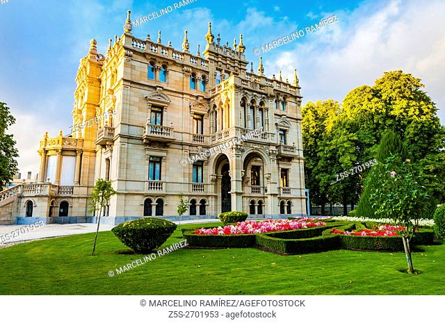 The Fine Arts Museum of Álava. Palace Augustin Zulueta. Vitoria-Gasteiz, Álava, Basque Country, Spain, Europe