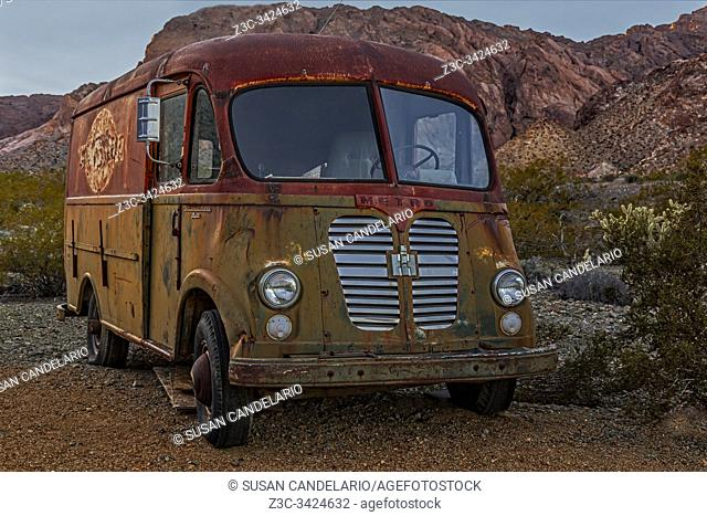 International Harvester A120 Metro Van Delivery Truck