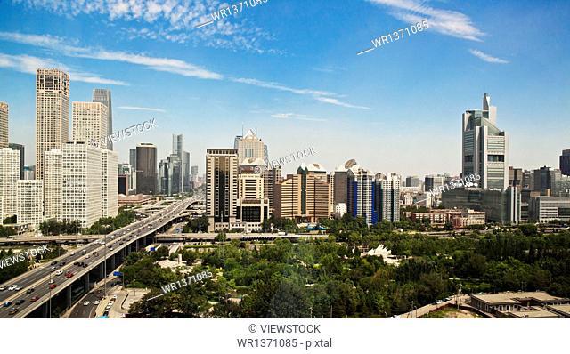 Beijing city scenery