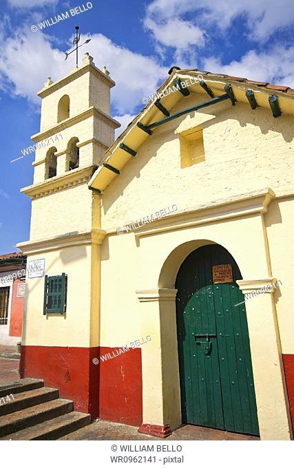 Church Chorro de Quevedo, Candelaria, Bogota, Cundinamarca, Colombia
