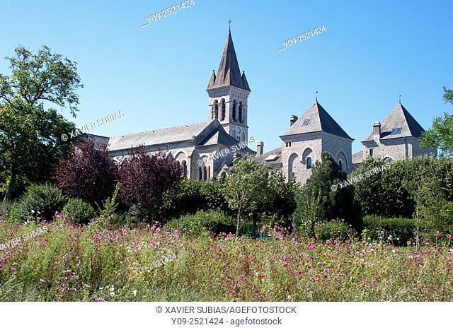 Abbaye Sainte Scholastique, Dourgne, Tarn, Midi-Pyrénées, France