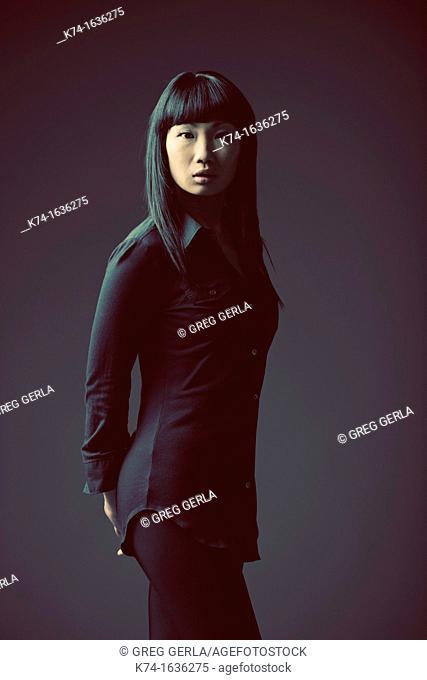 Fashion image of Chinese woman