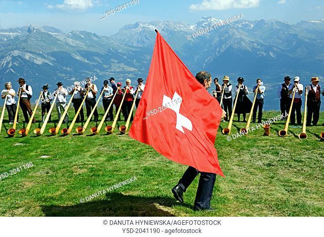 Nendaz, Valais , Switzerland