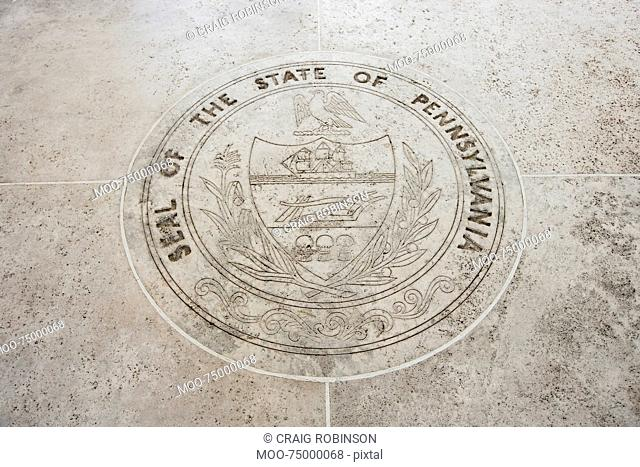 Seal of Pennsylvania in Fort Bonifacio, Manila, Philippines