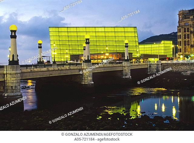 Kursaal Congress Centre by Rafael Moneo, San Sebastian. Guipuzcoa, Basque Country, Spain