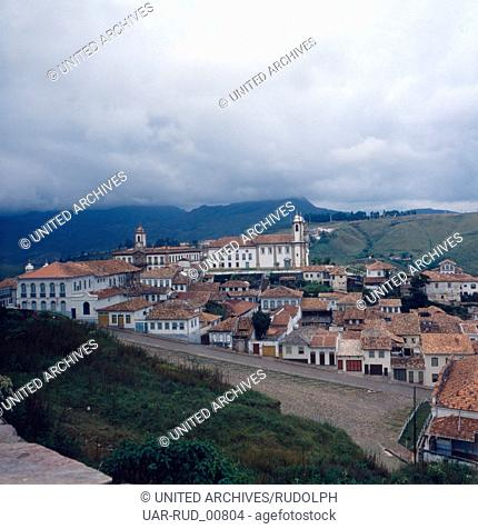 Eine Reise nach Ouro Preto, Brasilien 1980er Jahre. A trip to Ouro Preto, Brazil 1980s