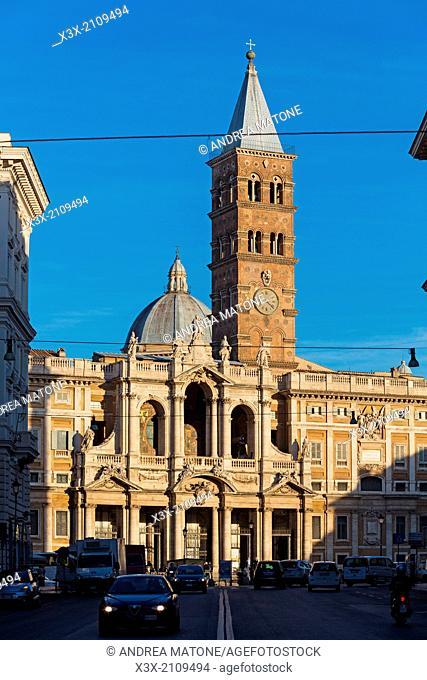Church Santa Maria Maggiore Rome Italy