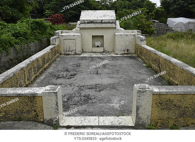 Turtleback tomb in Ishigaki island, Japan, Asia
