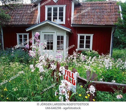 Old House for sale. Småland. Sweden