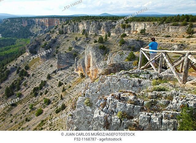 La Galiana viewpoint, Cañón del Río Lobos Natural Park, Soria province, Castilla-Leon, Spain