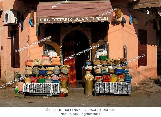 Marrakech/Marrakesh; Medina; Souks; Morocco