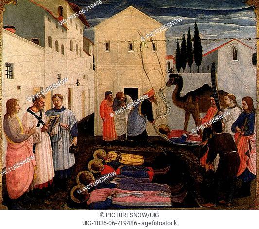 Burial of Saints Cosmas and Damian