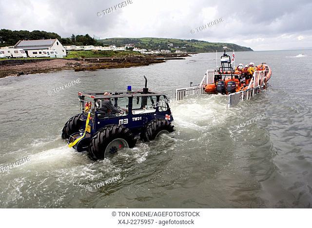Red bay lifeboat volunteers (RNLI)