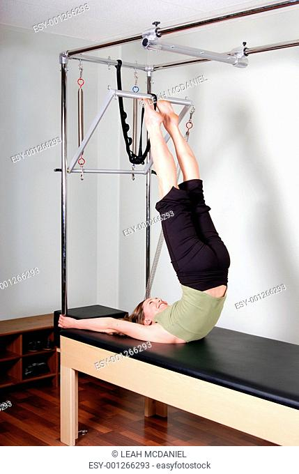Trapeze Table Pilates Excercise