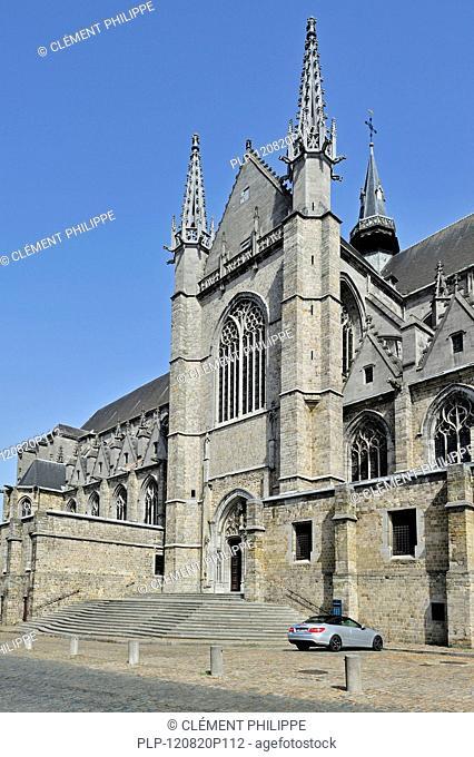 The Sainte Waudru collegiate church / Collégiale Sainte-Waudru de Mons, Hainaut, Belgium