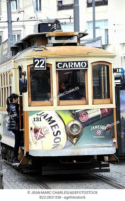 Old tramway, Porto, Portugal