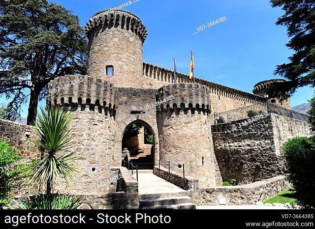 Jarandilla de la Vera, Castillo Palacio de los Condes de Oropesa (15th century). Caceres, Extremadura, Spain