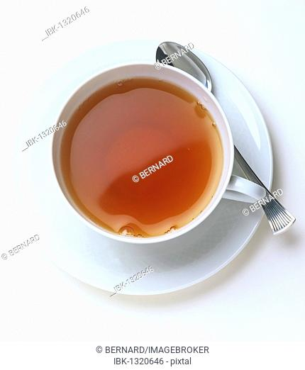 Cup of tea, from above