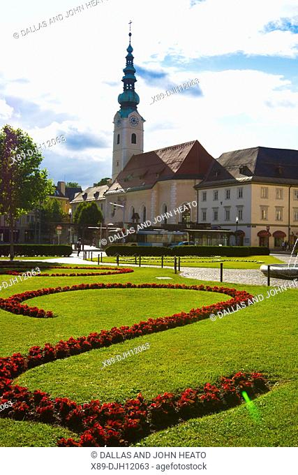 Europe, Austria, Carinthia, Klagenfurt am Worthersee, Church of the Holy Ghost