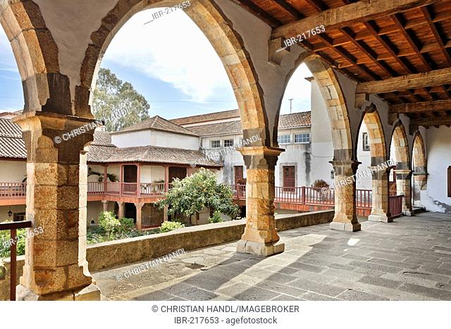 Cloister in the Convento de Santa Clara, Funchal, Madeira, Portugal, EXCLUSIVE USAGE RESERVATION: TOURISM, ONLINE CATALOUGE, GLR, UNTILL MAY, 31ST 2013