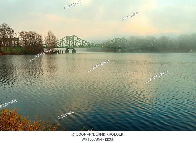 Early morning Glienicke Bridge