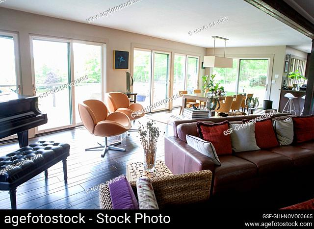 Living and Dining Areas, Open Floor Plan