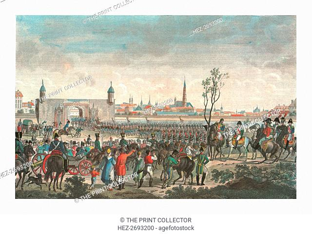 Entry of the French into Vienna, 14 November 1805, (c1850). Artist: Francois Pigeot
