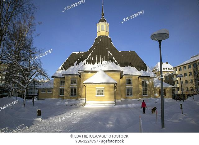 Church of Lappee in Lappeenranta Finland