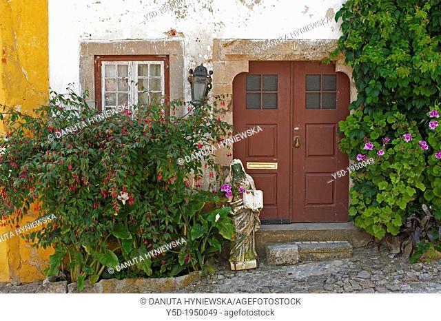 city of Obidos, UNESCO heritage, Portugal